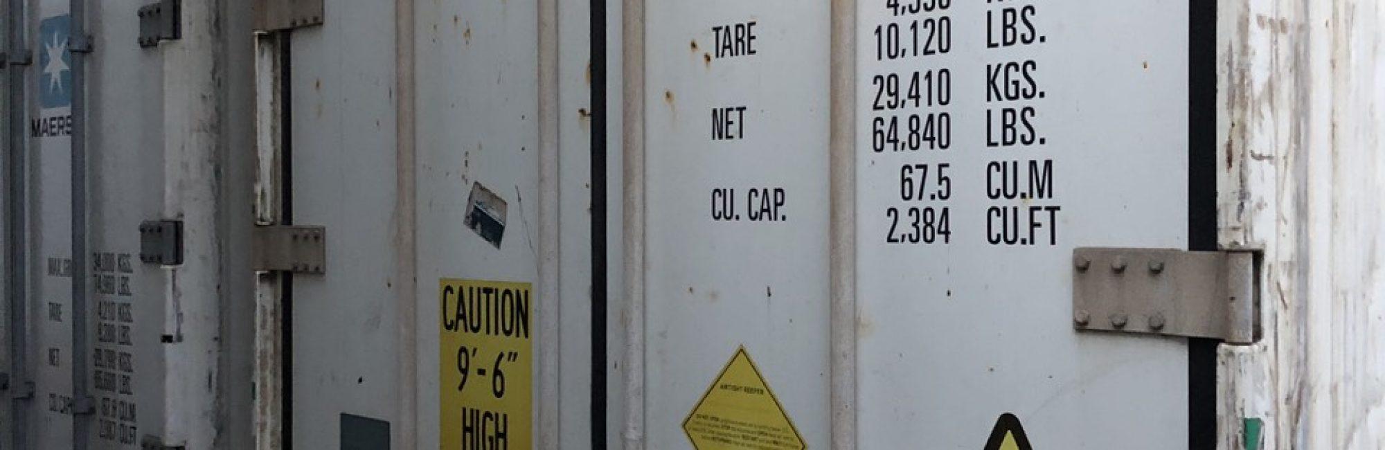 Container hàng thịt đông lạnh nhập khẩu tại cảng cát lái
