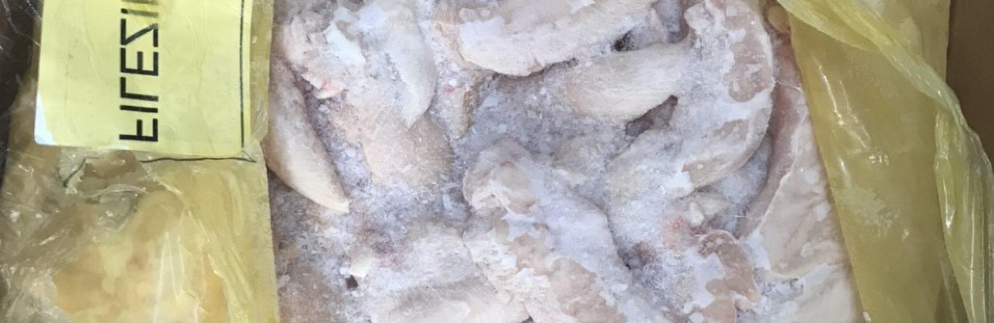 thịt gà đông lạnh nhập khẩu